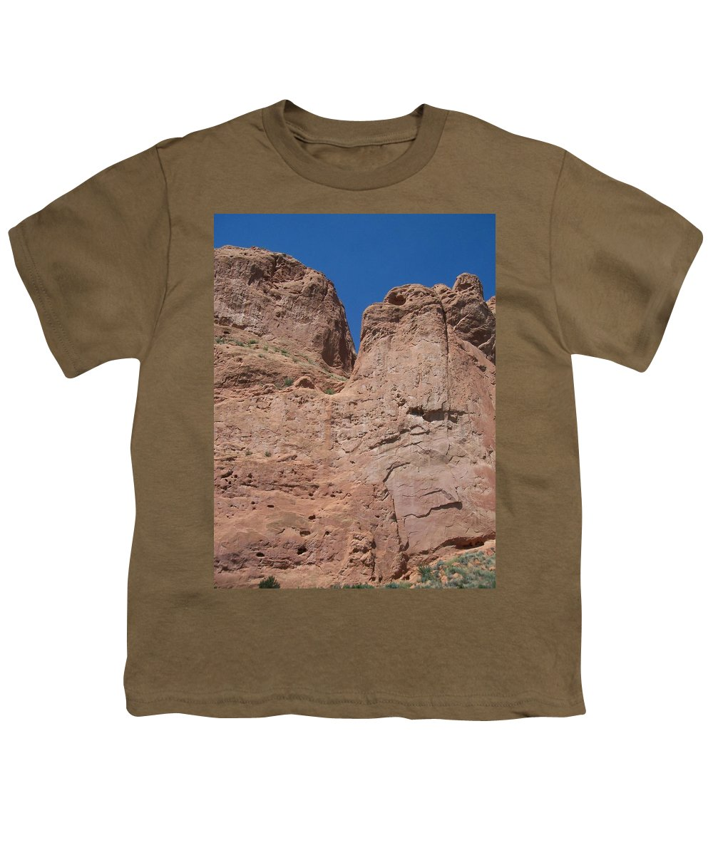 Colorado Youth T-Shirt featuring the photograph Colorado Redrock by Anita Burgermeister