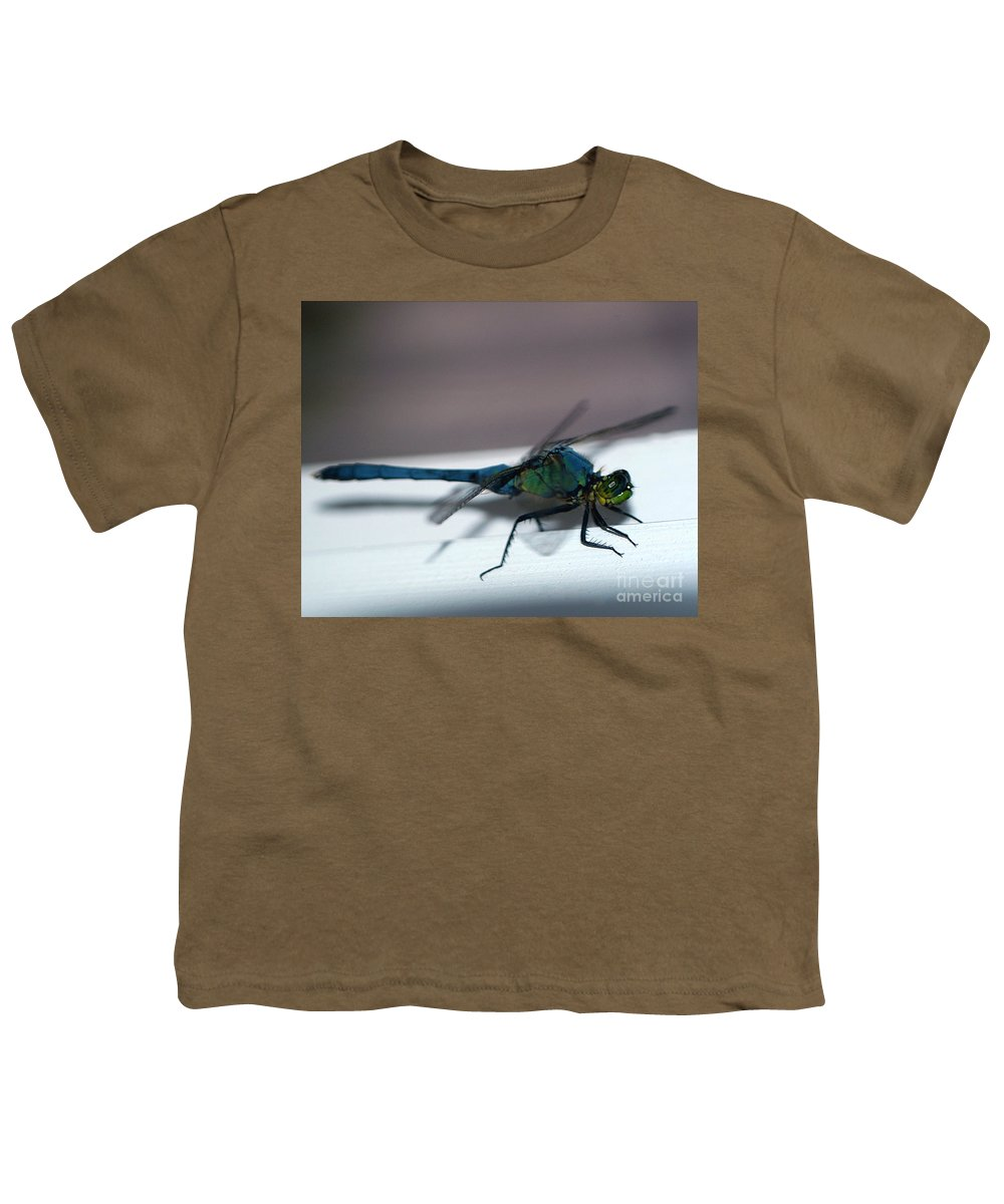 Clay Youth T-Shirt featuring the photograph Colorful Dragon by Clayton Bruster