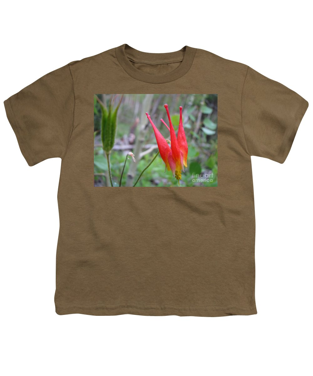 Flowers Of Colorado Youth T-Shirt featuring the photograph Crown by Amanda Barcon