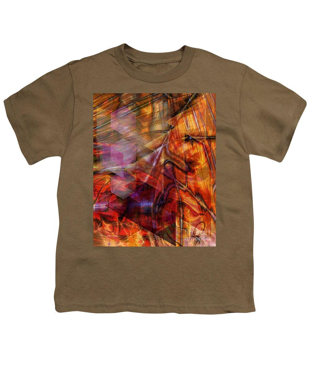 Deguello Sunrise Youth T-Shirt featuring the digital art Deguello Sunrise by John Beck