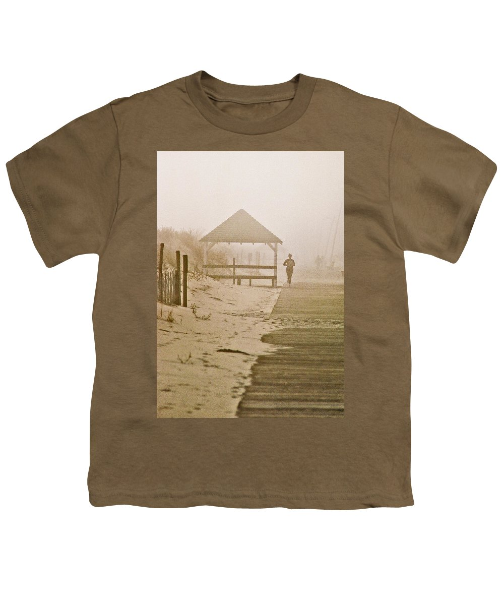Landscape Youth T-Shirt featuring the photograph Disappearance by Steve Karol