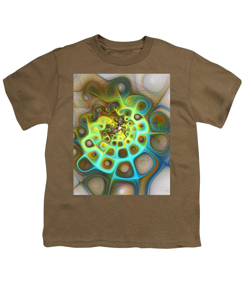 Digital Art Youth T-Shirt featuring the digital art Dreamscapes by Amanda Moore