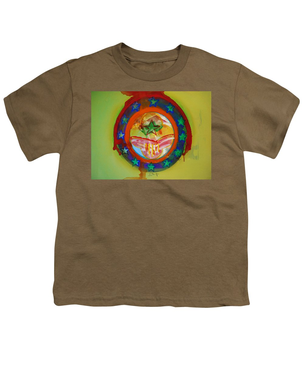 Youth T-Shirt featuring the painting European Union by Charles Stuart