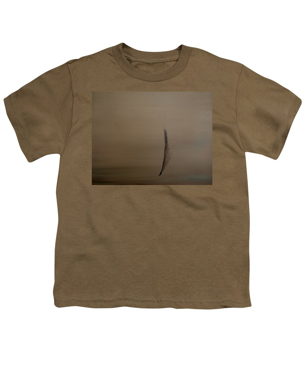 Feather Youth T-Shirt featuring the painting Feather by Jack Diamond