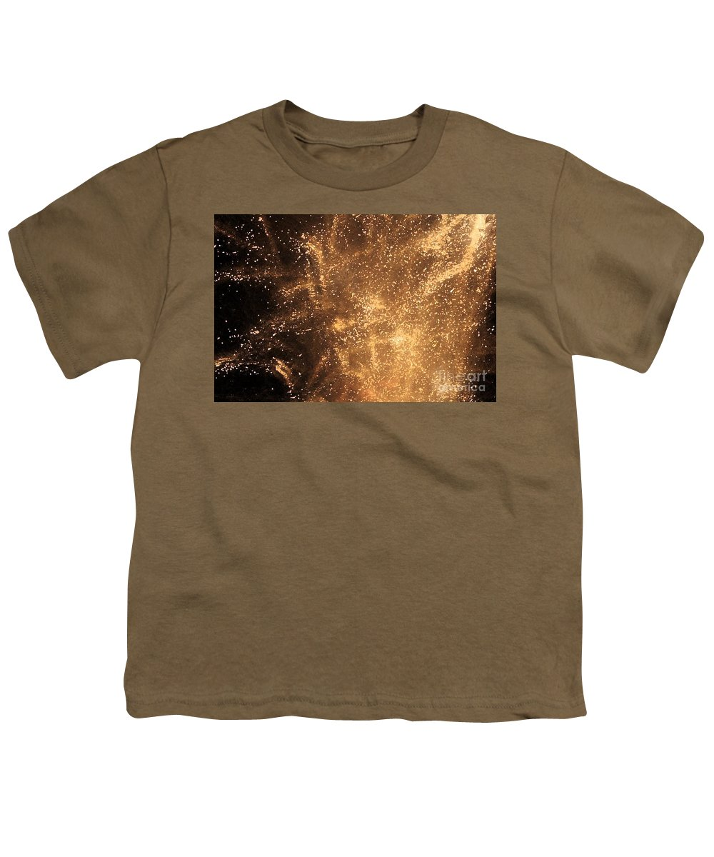 Fireworks Youth T-Shirt featuring the photograph Fired Up by Debbi Granruth