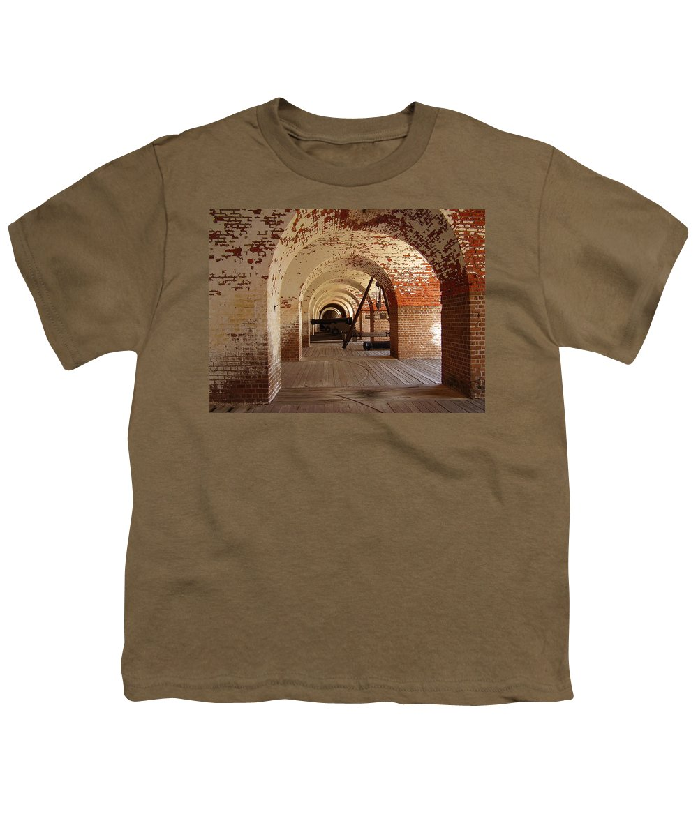 Fort Pulaski Youth T-Shirt featuring the photograph Fort Pulaski II by Flavia Westerwelle