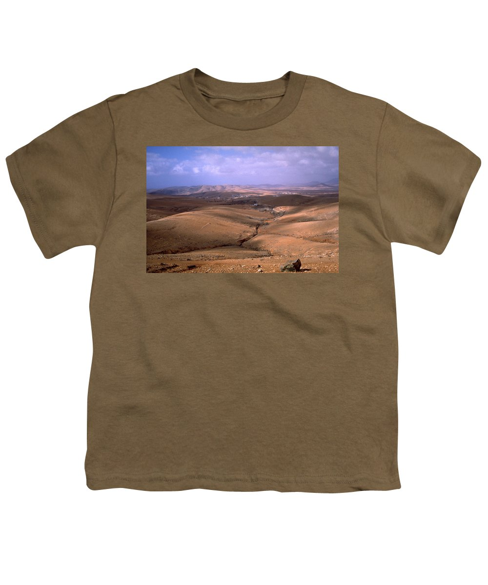 Fuerteventura Youth T-Shirt featuring the photograph Fuerteventura I by Flavia Westerwelle