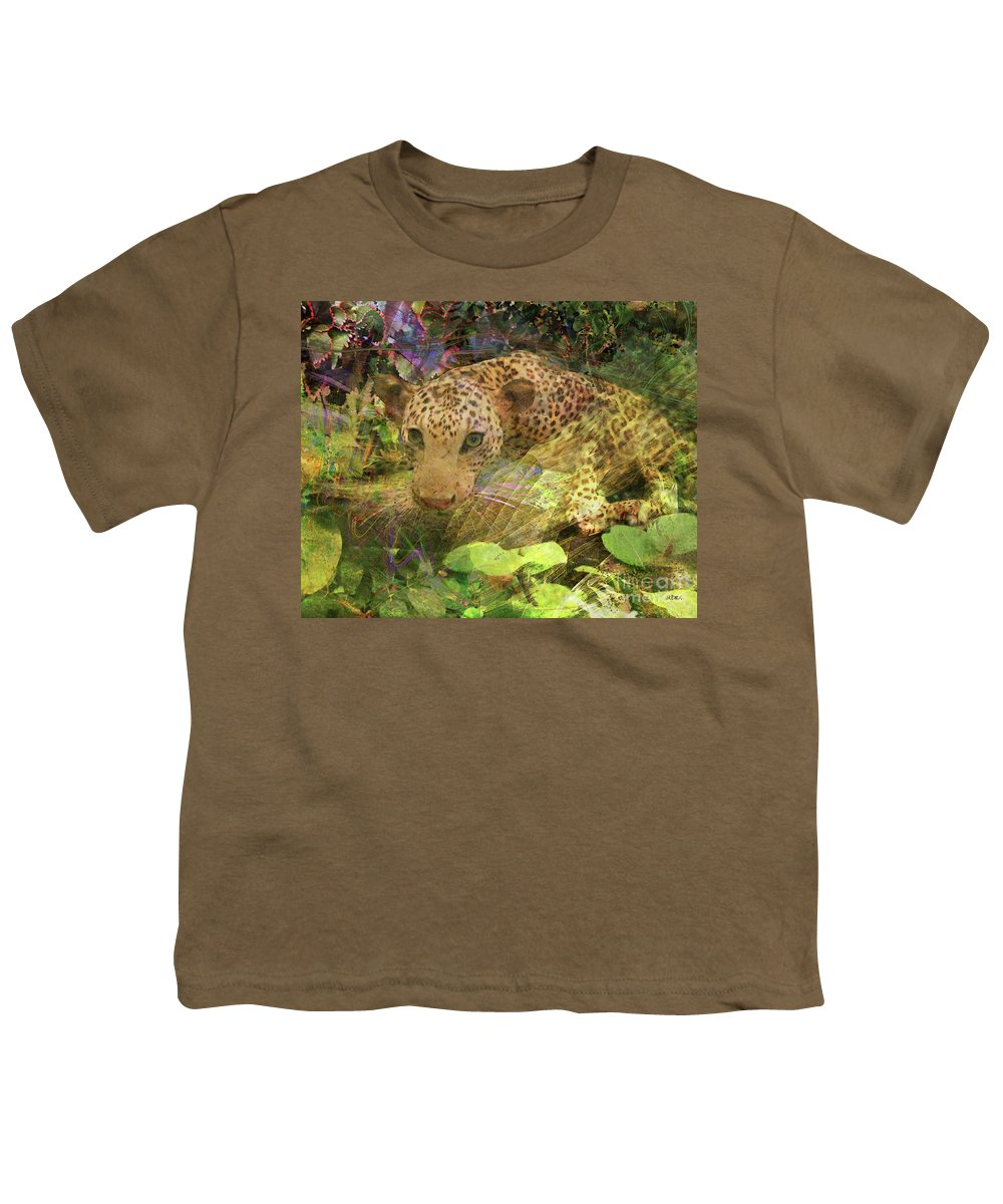 Game Spotting Youth T-Shirt featuring the digital art Game Spotting by John Beck