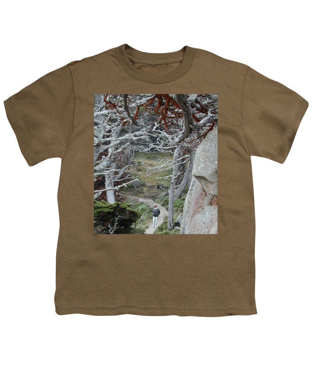 Lichens Youth T-Shirt featuring the photograph Ghost Trees by Douglas Barnett