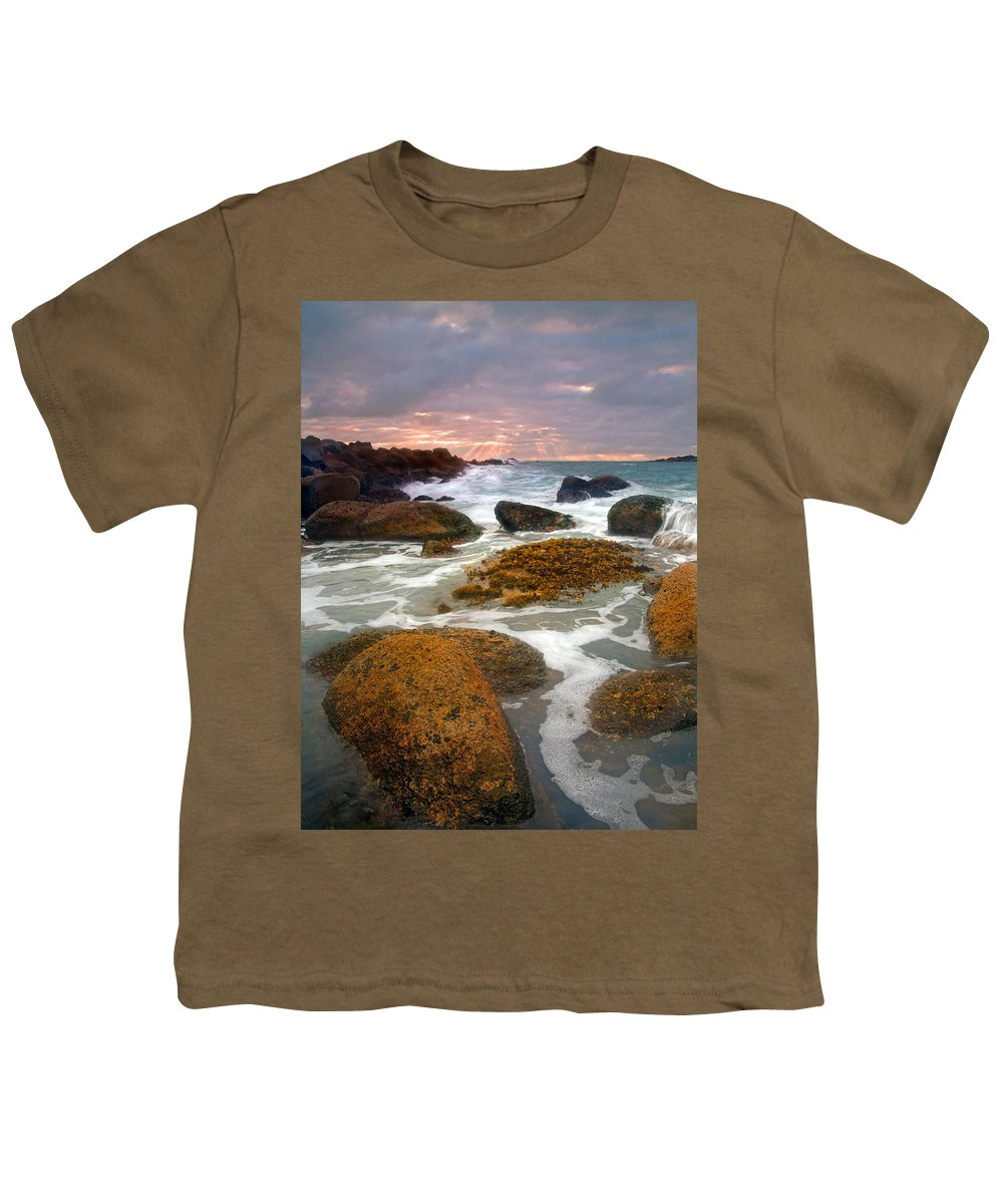 Sunrise Youth T-Shirt featuring the photograph Heavenly Dawning by Mike Dawson