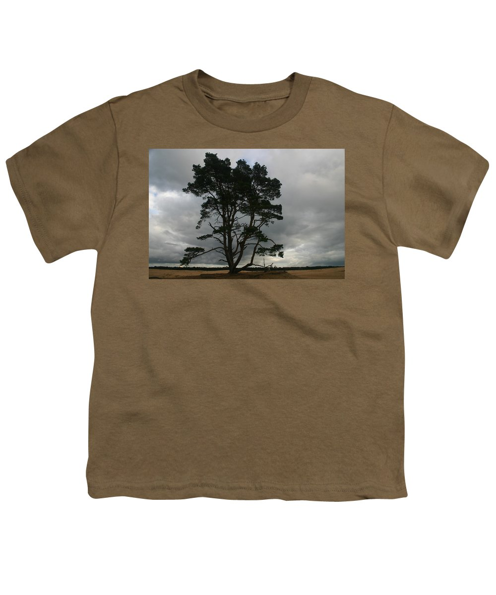 Storm Youth T-Shirt featuring the photograph Holland Desert by Minaz Jantz