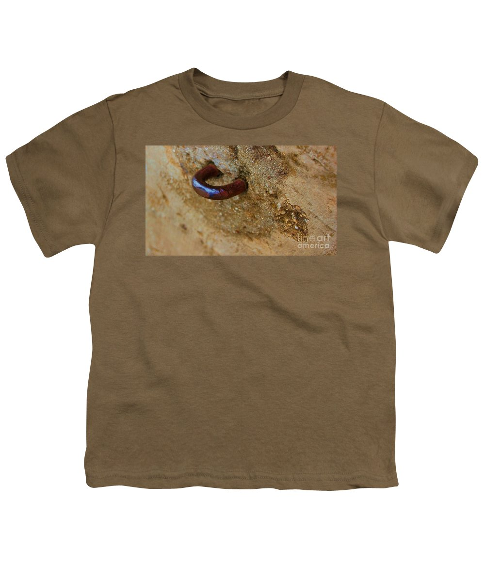 Concrete Youth T-Shirt featuring the photograph Hooked by Debbi Granruth