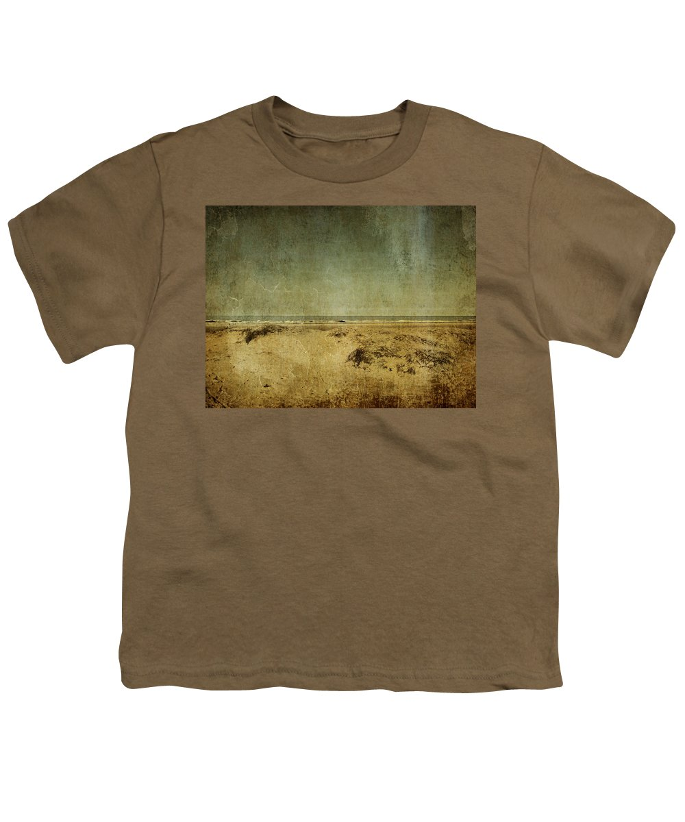 Beach Youth T-Shirt featuring the photograph I Wore Your Shirt by Dana DiPasquale