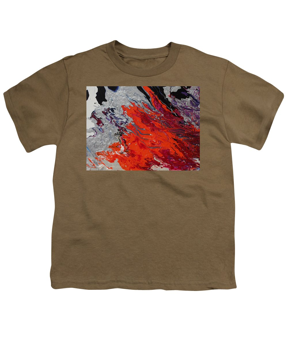 Fusionart Youth T-Shirt featuring the painting Ignition by Ralph White
