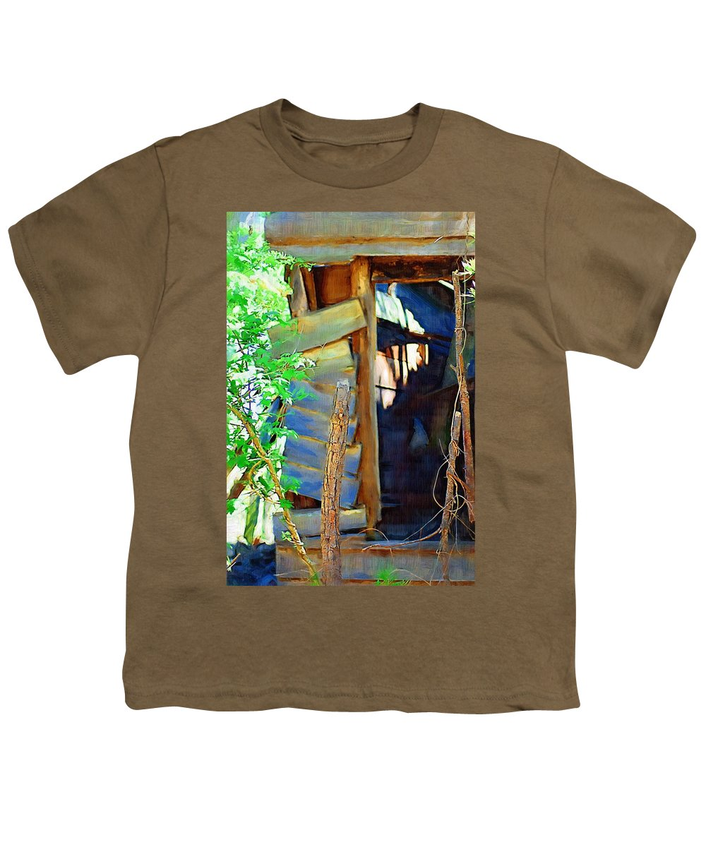 House Youth T-Shirt featuring the photograph In Shambles by Donna Bentley