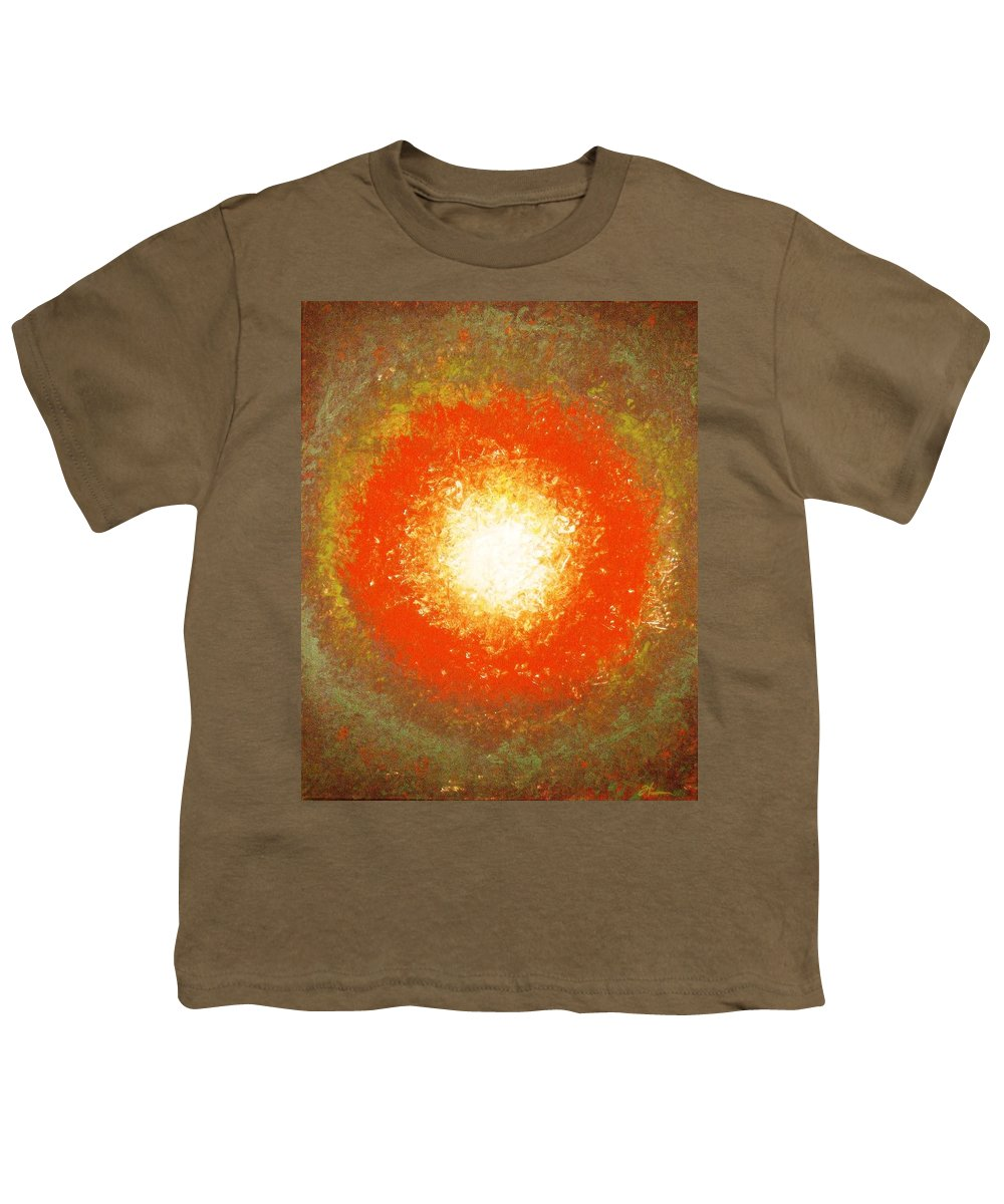 Original Youth T-Shirt featuring the painting Inception by Todd Hoover
