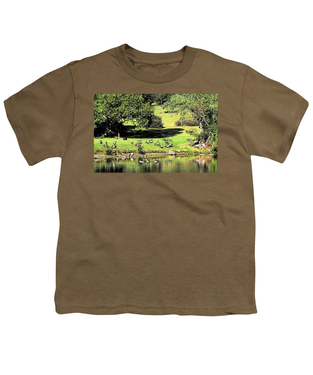 Bird Youth T-Shirt featuring the photograph Last Days Of Summer by Gaby Swanson
