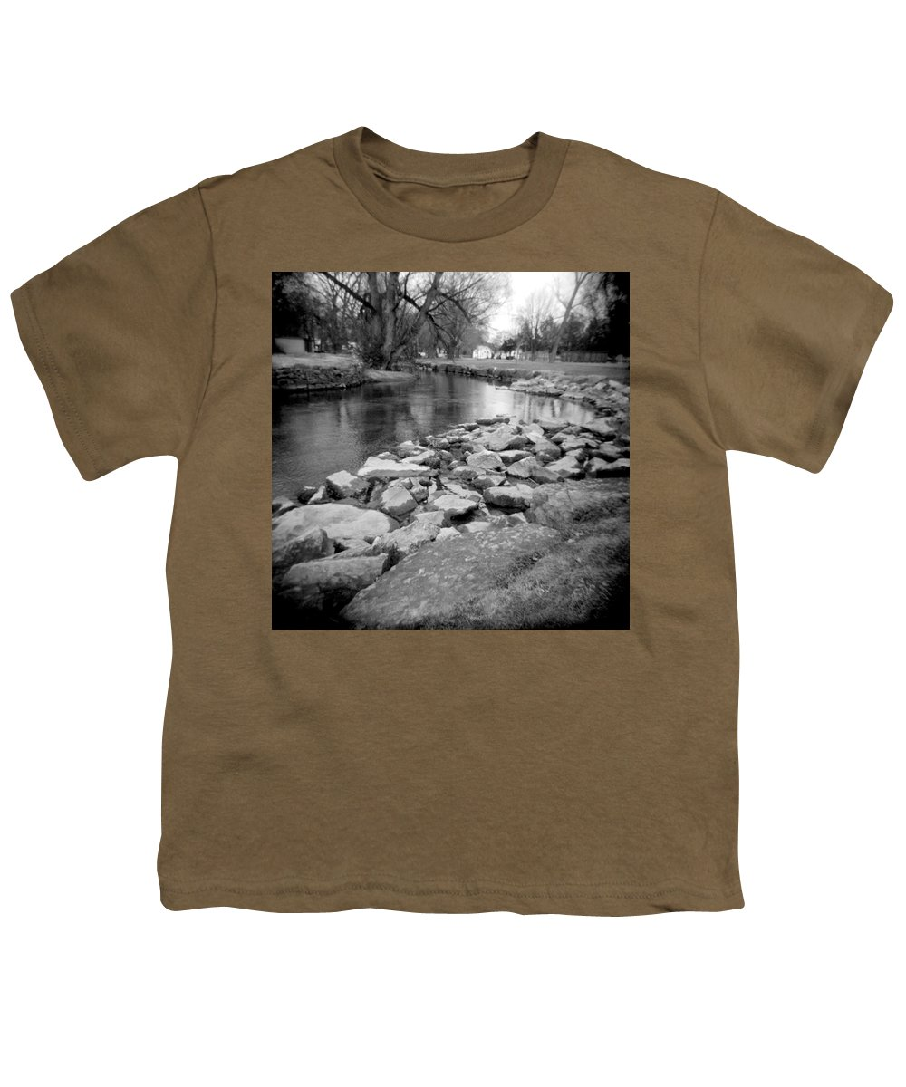 Photograph Youth T-Shirt featuring the photograph Le Tort Spring Run by Jean Macaluso