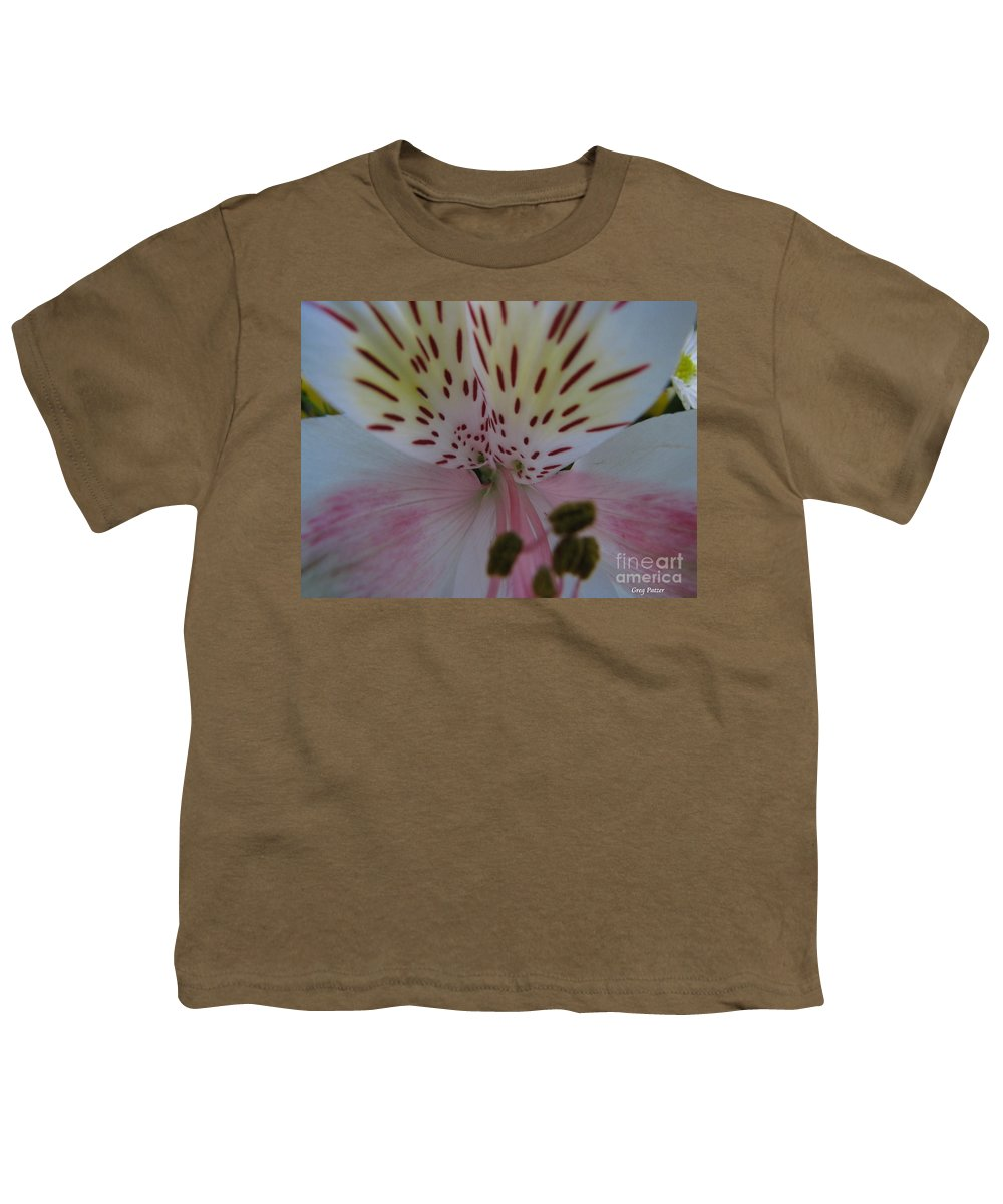 Patzer Youth T-Shirt featuring the photograph Lily by Greg Patzer
