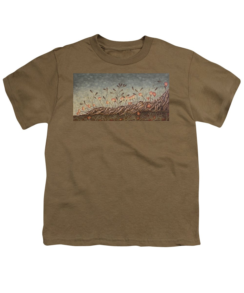 Sex Youth T-Shirt featuring the painting Little Gods by Judy Henninger