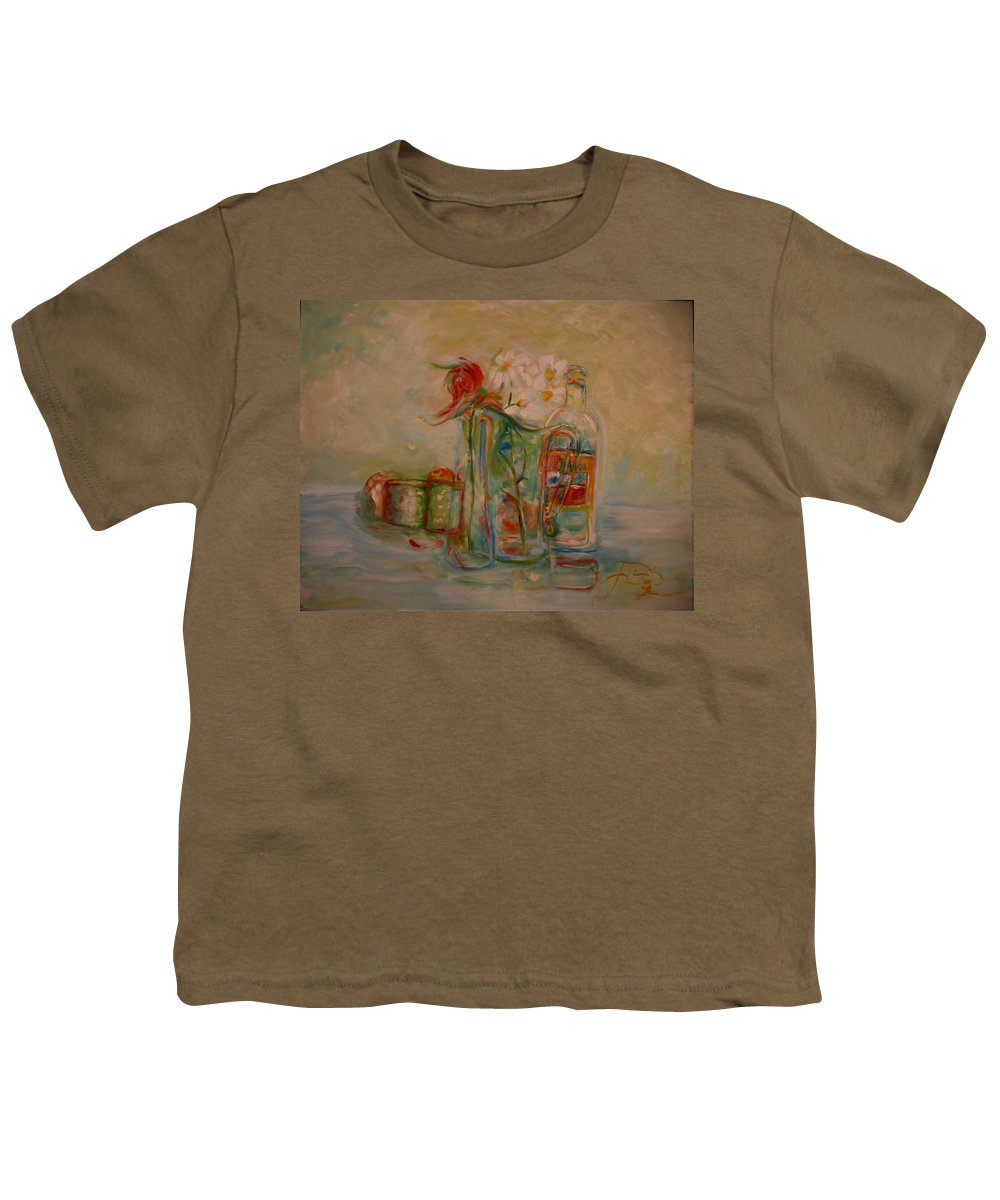 Rose Youth T-Shirt featuring the painting Lovers Picnic by Jack Diamond