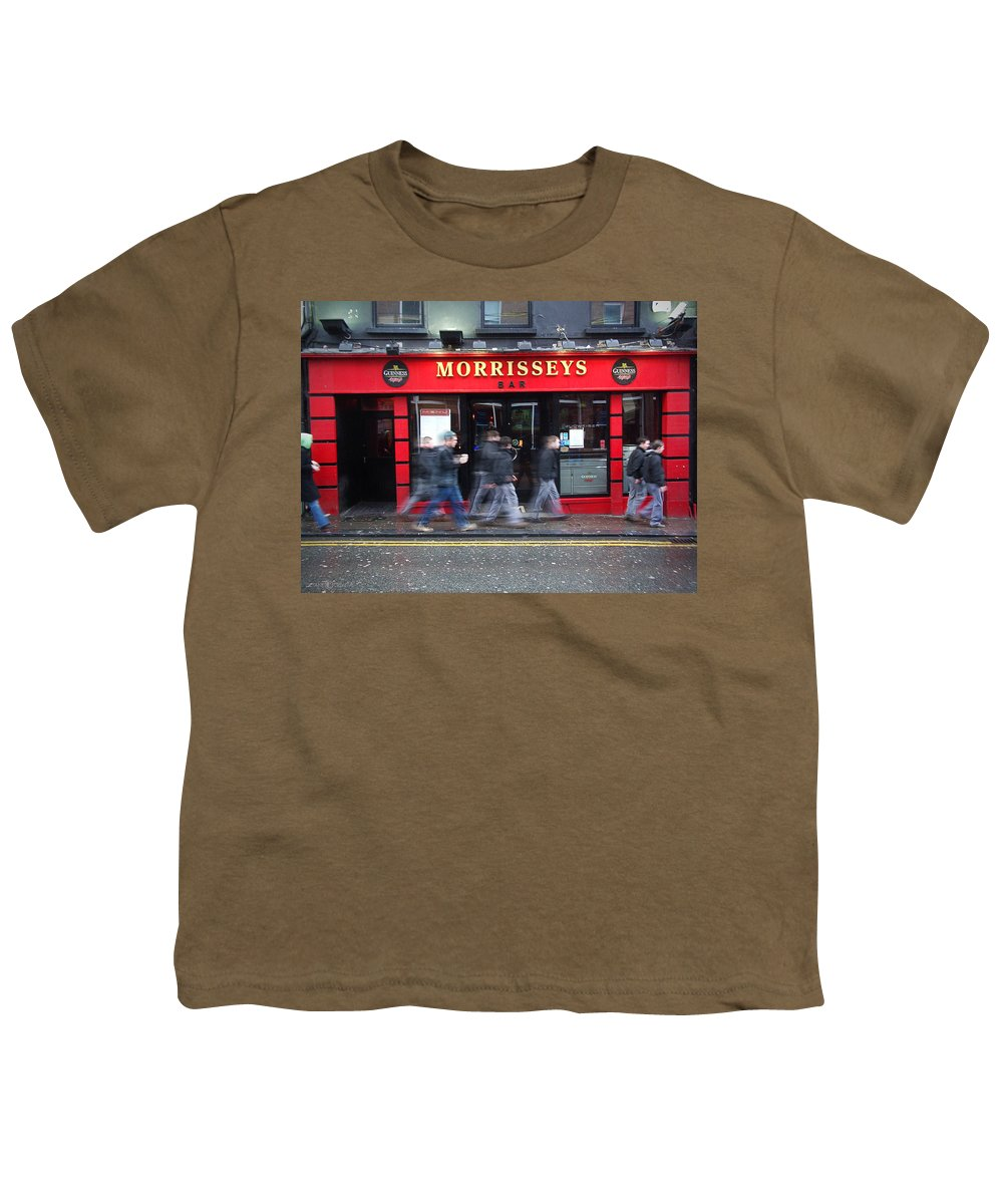 Pub Youth T-Shirt featuring the photograph Morrissey by Tim Nyberg
