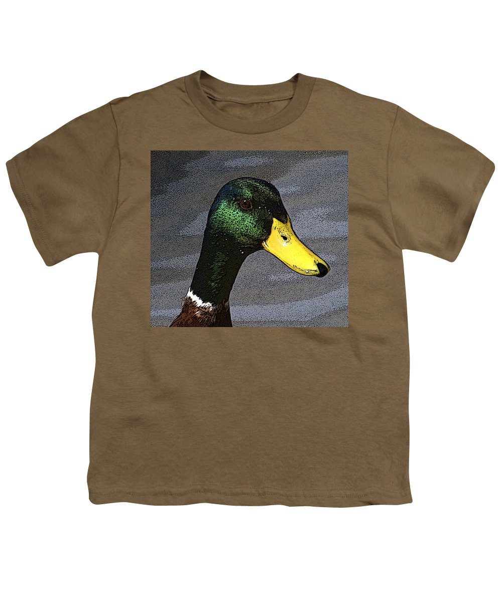 Duck Youth T-Shirt featuring the photograph My Close Up by Robert Pearson