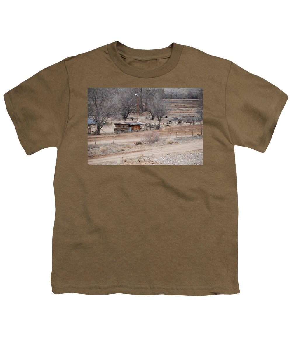 House Youth T-Shirt featuring the photograph Old Ranch House by Rob Hans