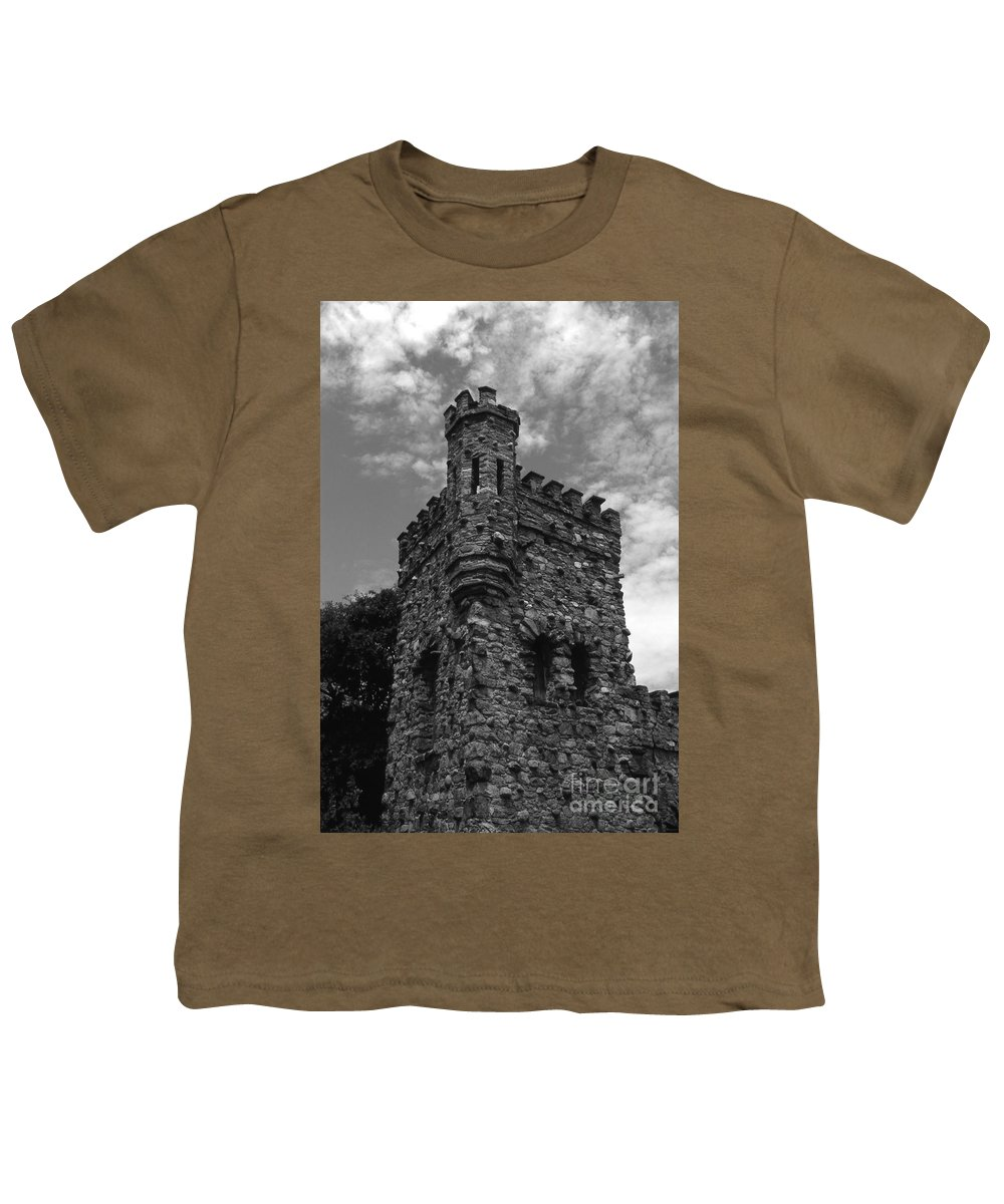 Castle Youth T-Shirt featuring the photograph Once Upon A Time by Richard Rizzo