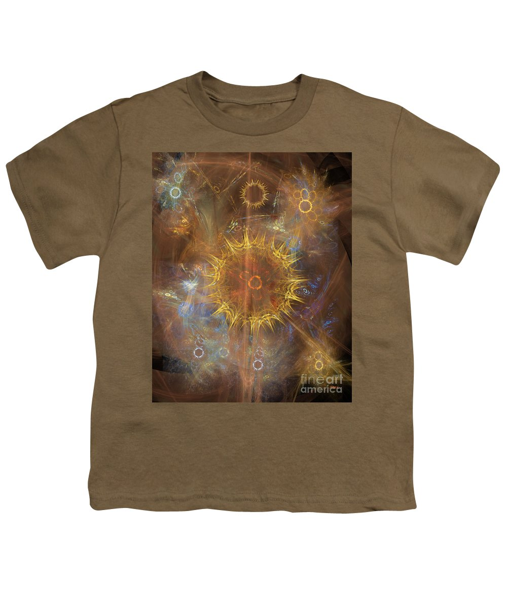 One Ring To Rule Them All Youth T-Shirt featuring the digital art One Ring To Rule Them All by John Beck