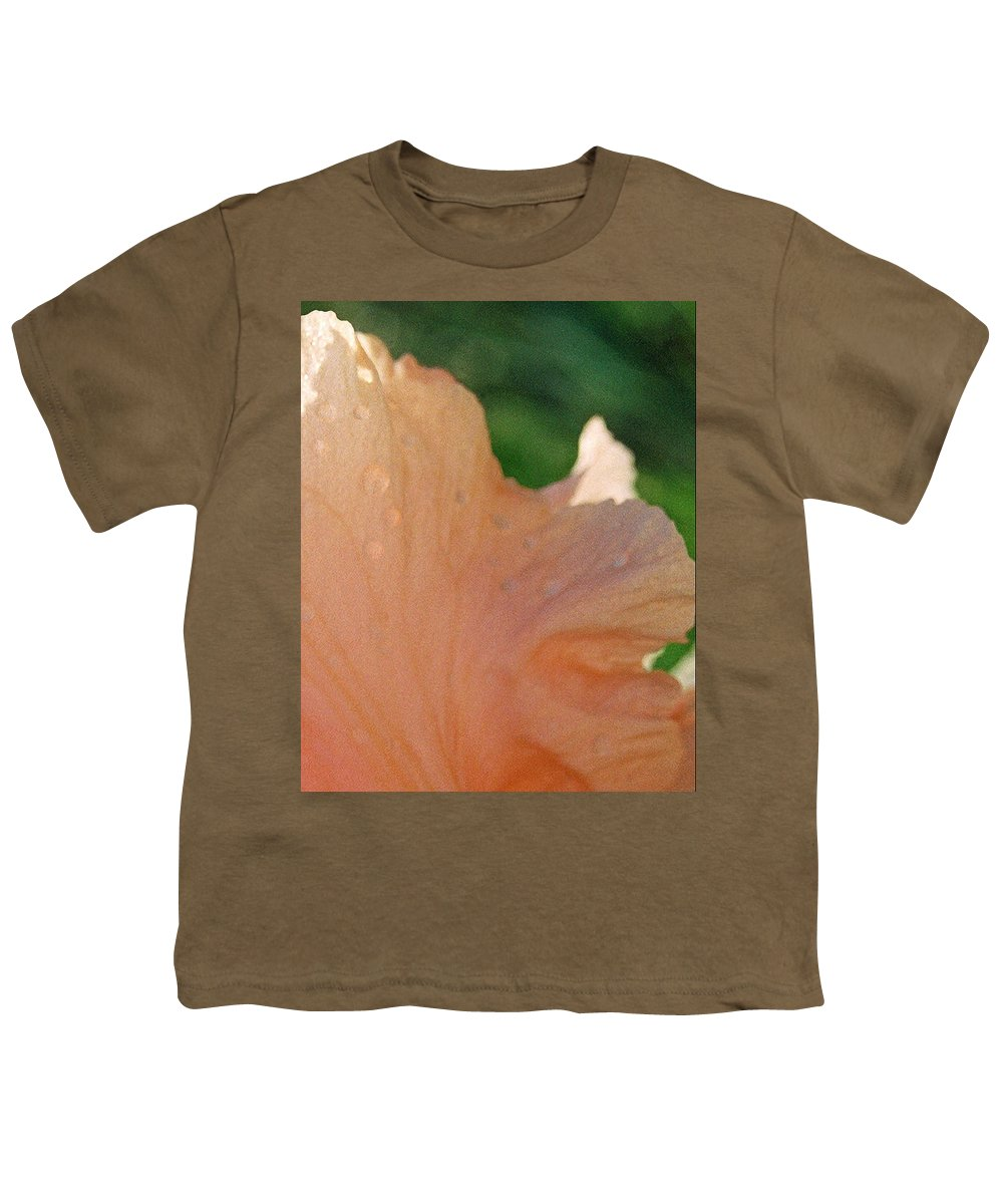 Abstract Youth T-Shirt featuring the photograph Panel Three From Iris by Steve Karol