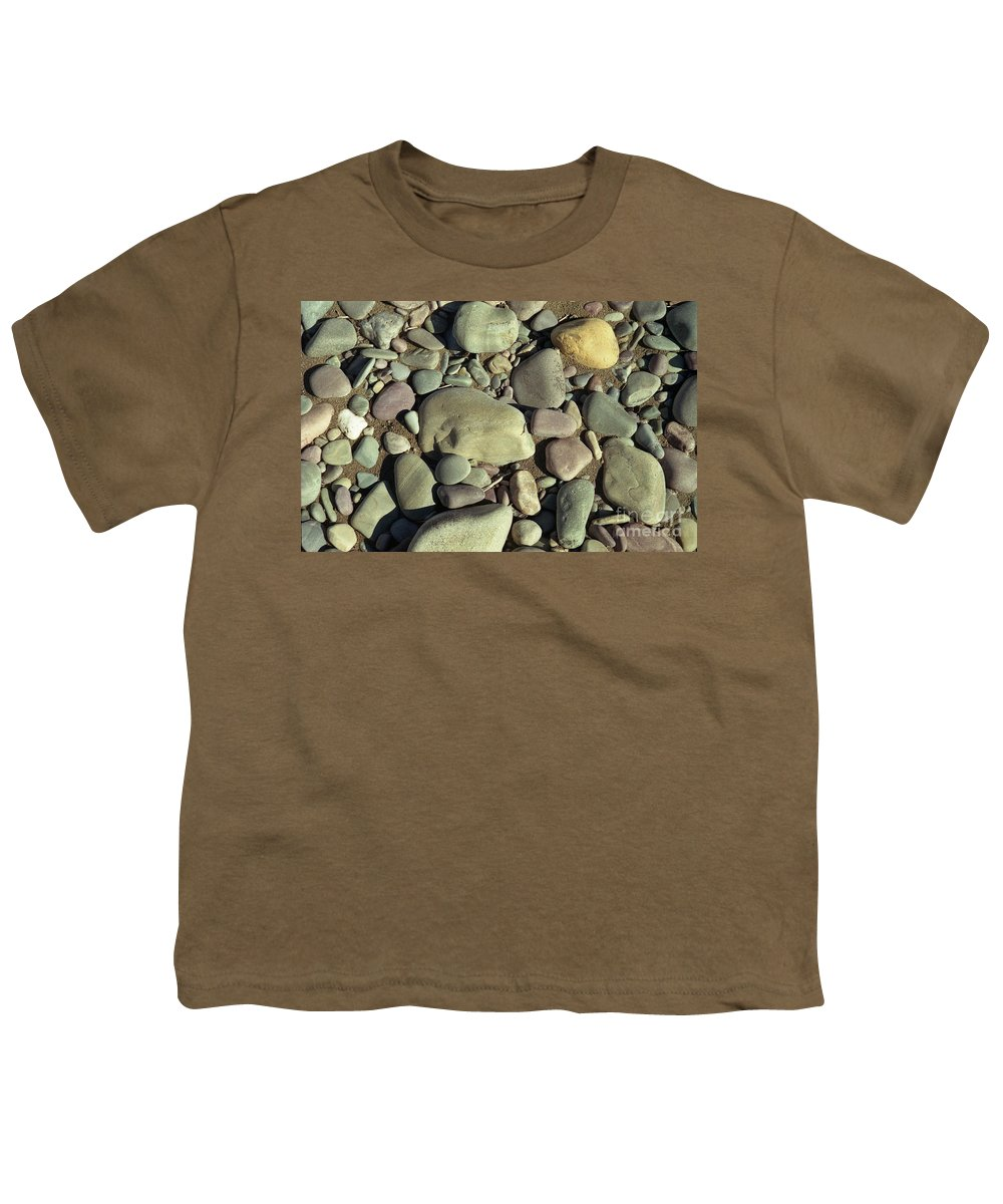 River Rock Youth T-Shirt featuring the photograph River Rock by Richard Rizzo