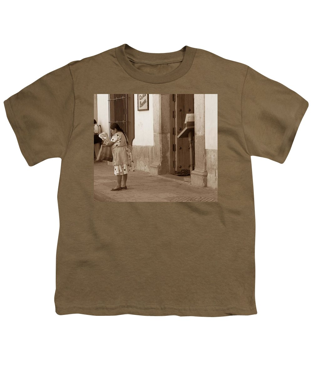 Charity Youth T-Shirt featuring the photograph Senora by Mary-Lee Sanders