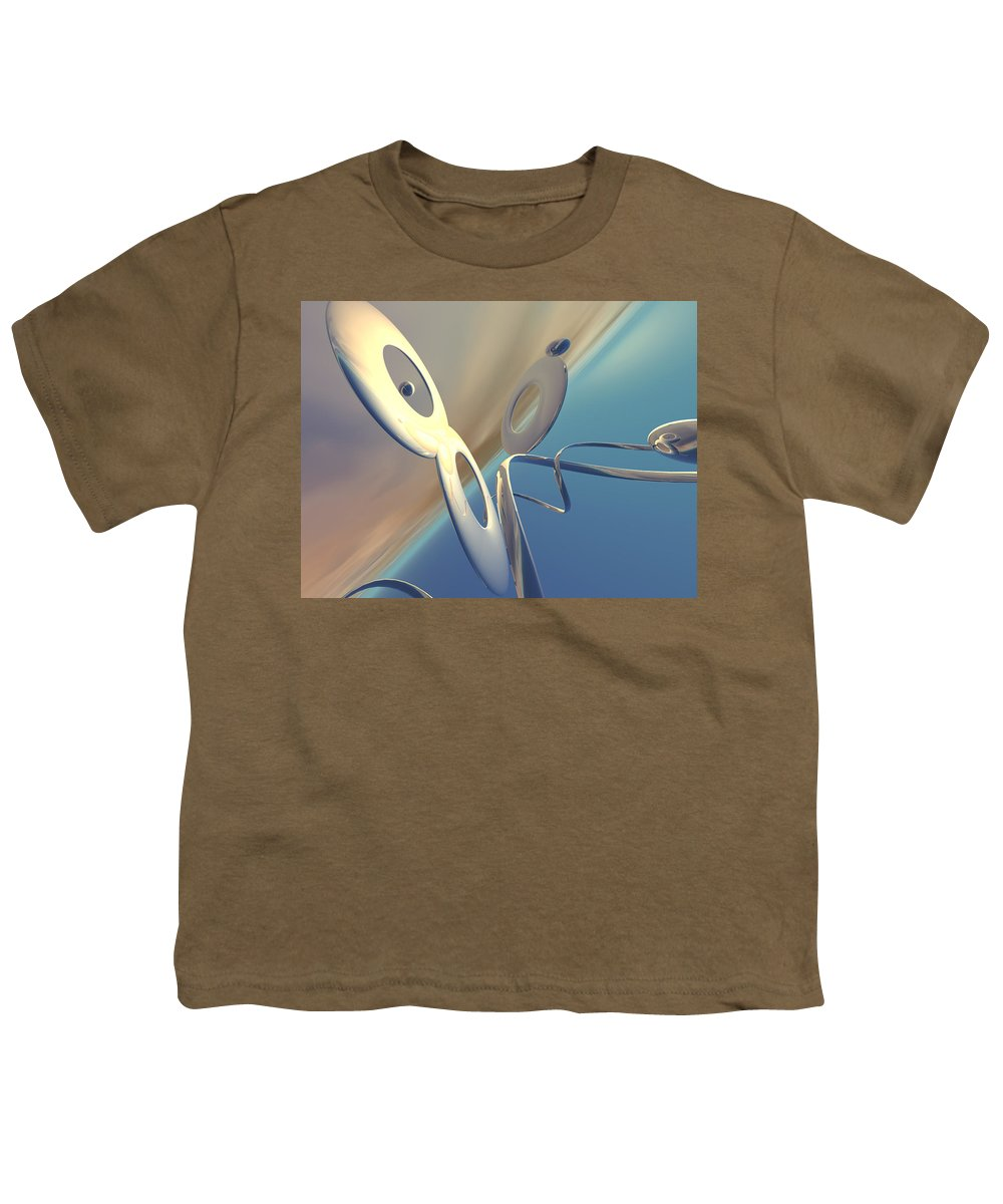 Scott Piers Youth T-Shirt featuring the painting Sense Of Well-being by Scott Piers