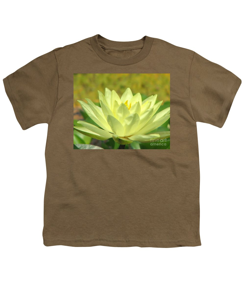 Lillypad Youth T-Shirt featuring the photograph Shades by Amanda Barcon