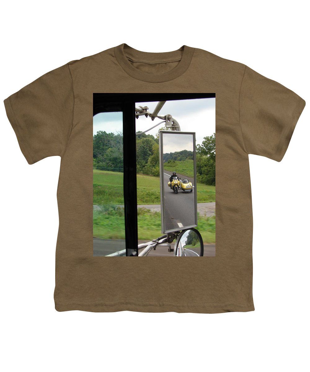 Truck Youth T-Shirt featuring the photograph Side Car Framed by J R  Seymour