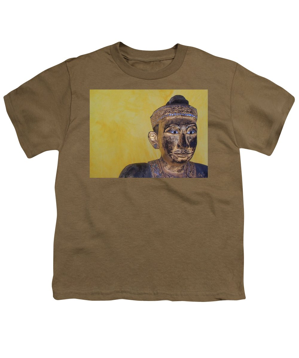Charity Youth T-Shirt featuring the photograph Statue by Mary-Lee Sanders
