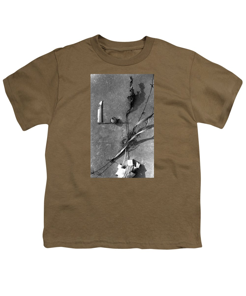Still Life Youth T-Shirt featuring the photograph Still Forms by Ted M Tubbs