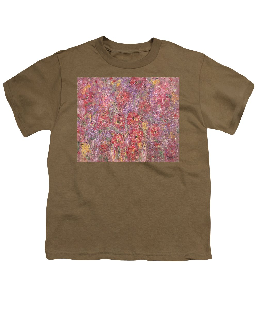 Still Life Youth T-Shirt featuring the painting Sweet Memories by Natalie Holland