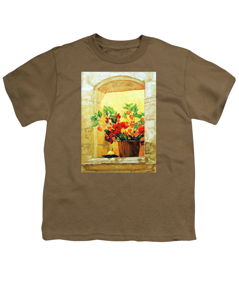 Still Life Youth T-Shirt featuring the painting The Light by Iliyan Bozhanov