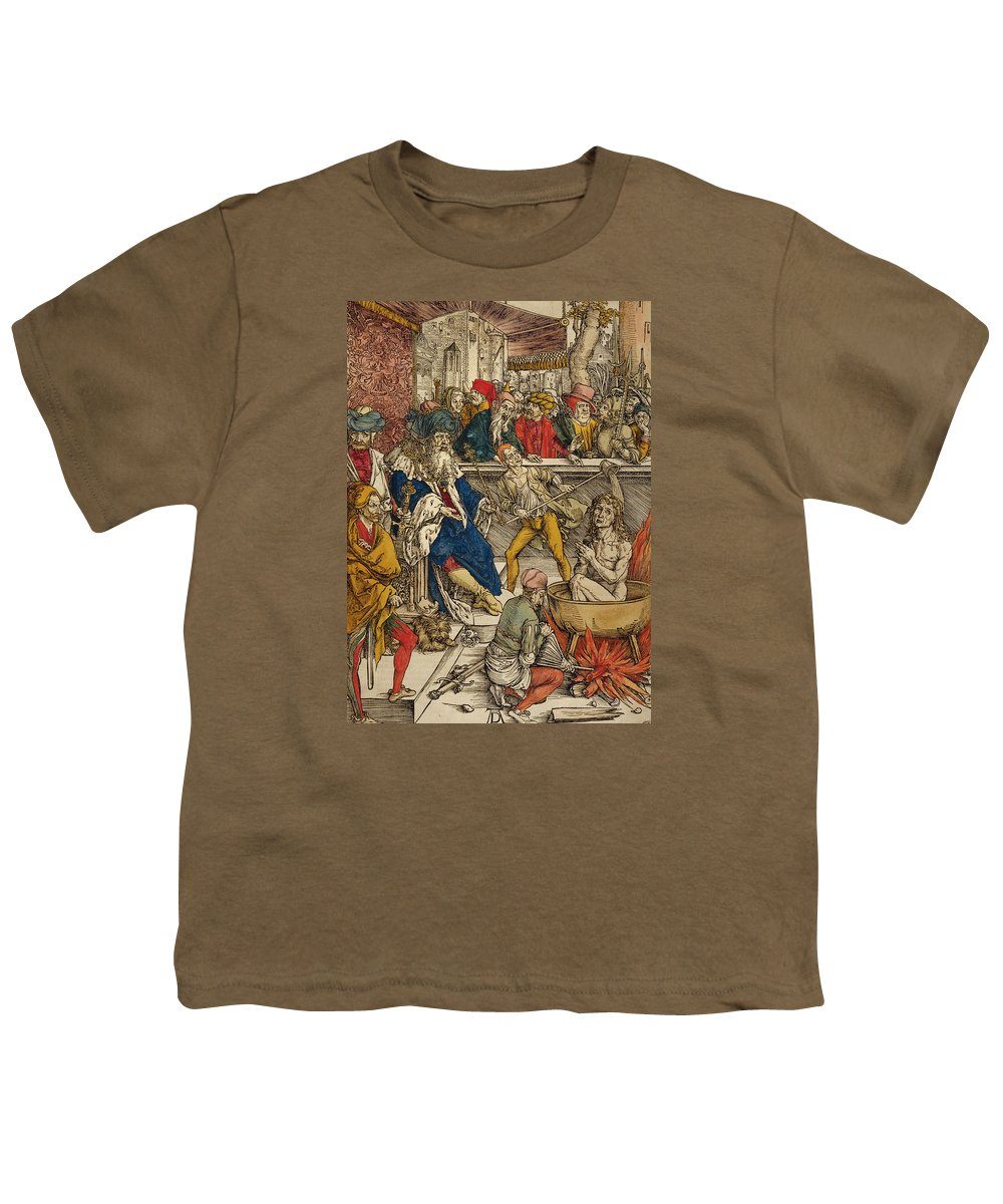 The Martyrdom Of St John Youth T Shirt For Sale By
