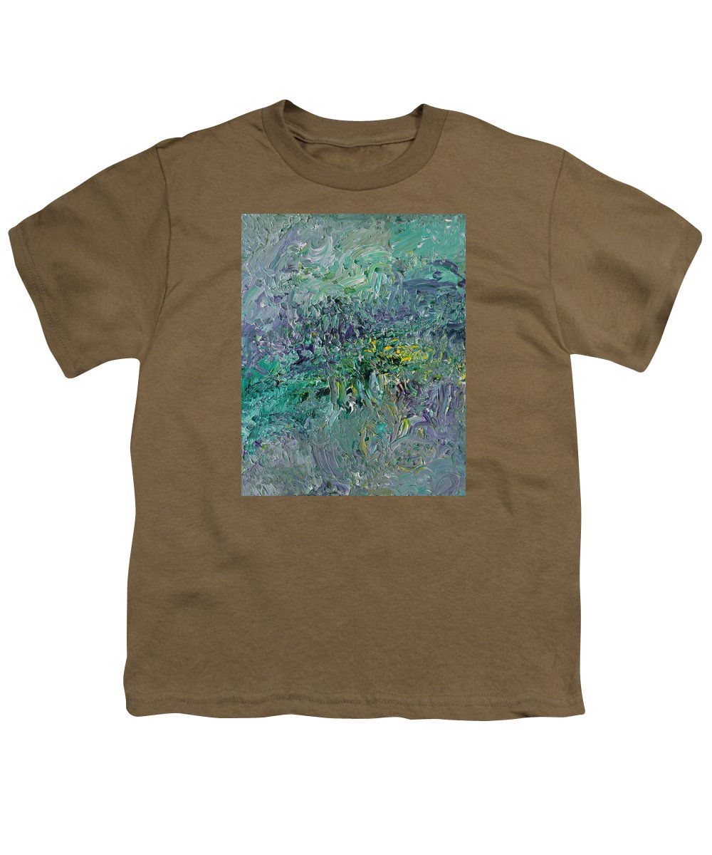 Fusionart Youth T-Shirt featuring the painting Blind Giverny by Ralph White