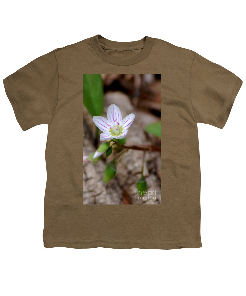 Floral Youth T-Shirt featuring the photograph Untitiled Floral by David Lane
