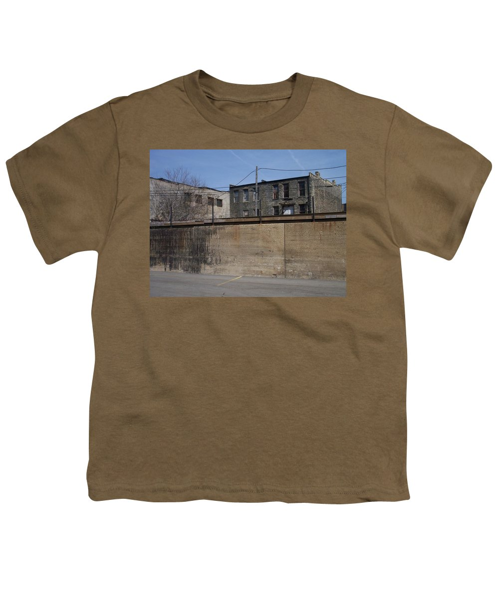 Walker's Point Youth T-Shirt featuring the photograph Walker's Point 1 by Anita Burgermeister