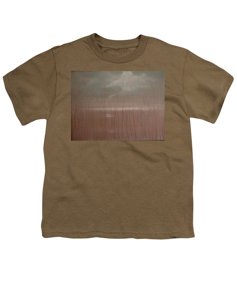 Dusk Youth T-Shirt featuring the painting Winter Of Hope by Jack Diamond