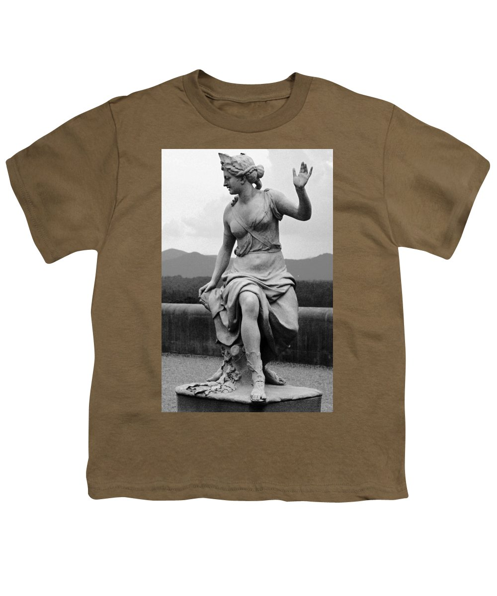 Figurative Youth T-Shirt featuring the photograph Woman Sculpture Nc by Eric Schiabor