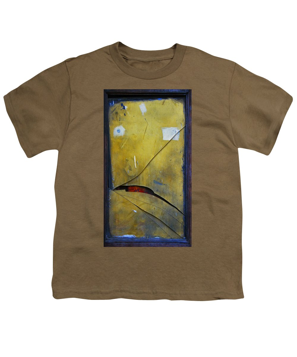 Abstract Youth T-Shirt featuring the photograph Xalapa Miro by Skip Hunt