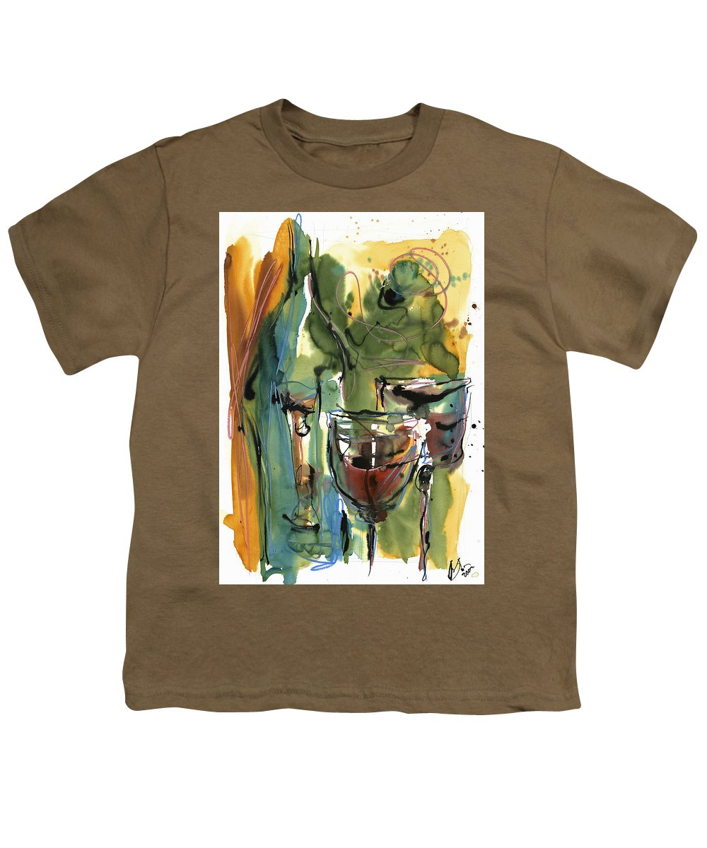 Wine Youth T-Shirt featuring the painting Zin-findel by Robert Joyner