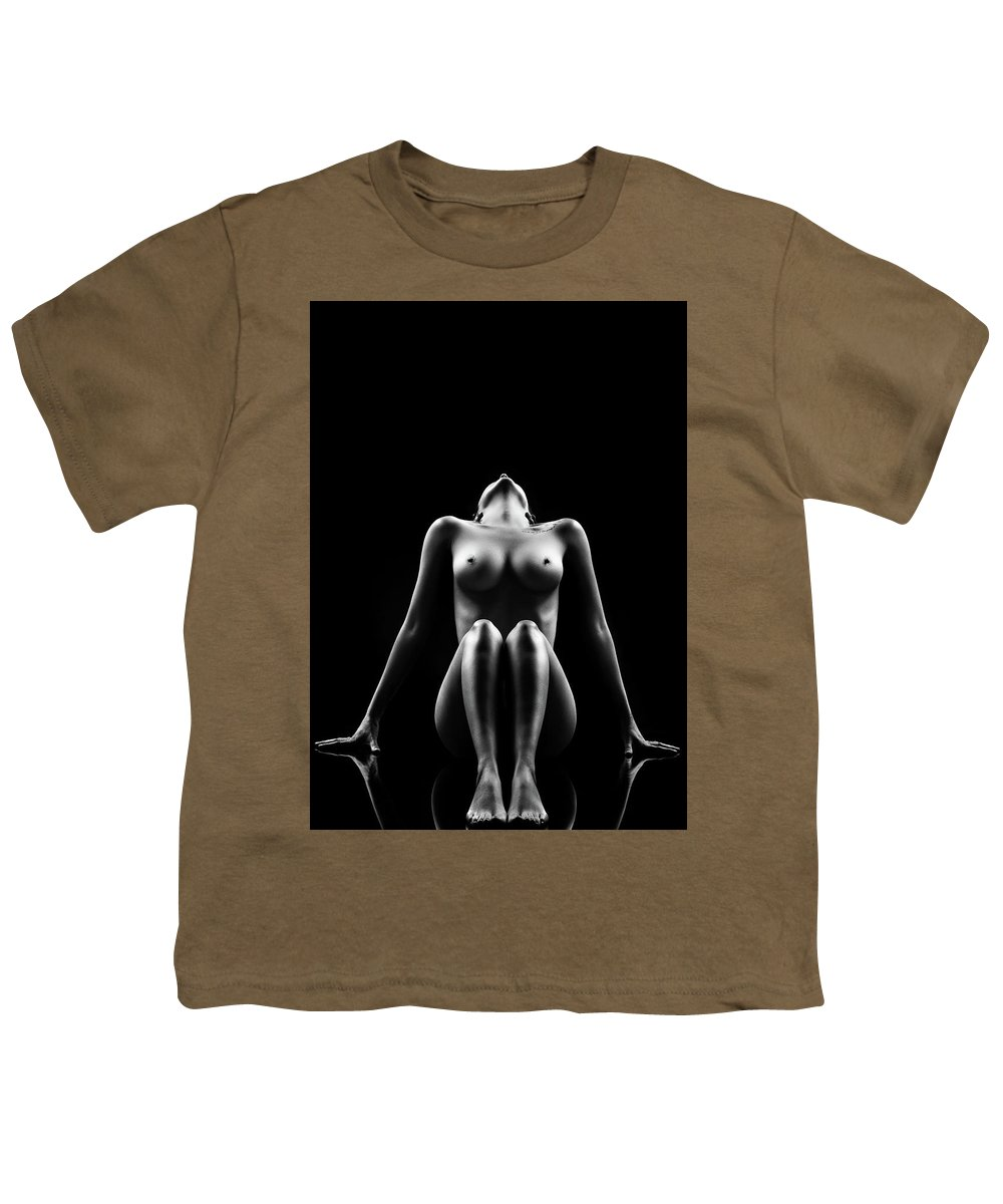 Woman Youth T-Shirt featuring the photograph Reflections Of D'nell 1 by Johan Swanepoel