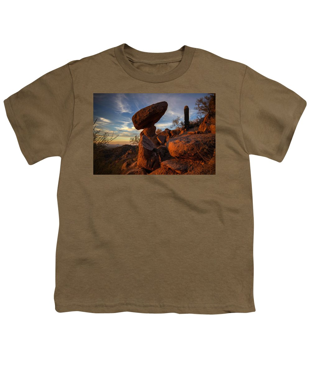 Photography Youth T-Shirt featuring the photograph Ancient Ones by Kati Astraeir